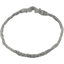 Plait hairband-children size etoile or gris