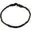Plait hairband-children size noir pailleté - PPMC