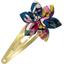 Passador clic clac flor estrella dalhia rosa marino - PPMC