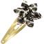 Barrette clic-clac fleur étoile feuillage - PPMC