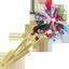 Barrette clic-clac fleur étoile kokeshis - PPMC