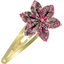 Star flower hairclip plum lichen - PPMC