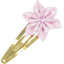 Passador clic clac flor estrella cuadros vichy rosa - PPMC