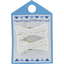 Small ribbons hair clips white sequined - PPMC