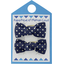 Small bows hair clips etoile or marine  - PPMC