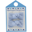 Small bows hair clips oxford blue - PPMC