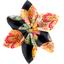 Star flower 4 hairslide golden bubbles - PPMC