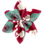 Star flower 4 hairslide ruby cherry tree - PPMC
