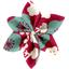 Pasador flor estrella cerezo rubí - PPMC