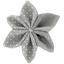 Star flower 4 hairslide etoile or gris - PPMC