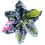 Barrette fleur étoile 4 nuit d'oiseaux