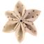 Pasador flor estrella lunares cobres rosas - PPMC