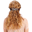 Arabesque bow hair slide etoile or gris