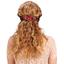 Arabesque bow hair slide paprika petal