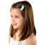 Mini sweet hairslide azur