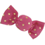 Mini sweet hairslide fuchsia gold star - PPMC