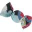 Petite barrette mini bonbon fleurs du mékong - PPMC