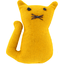 Small cat hair slide yellow ochre - PPMC