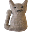 Small cat hair slide copper linen - PPMC