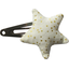 Star hair-clips white sequined - PPMC