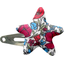 Star hair-clips poppy