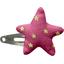Pasador de pelo estrella etoile or fuchsia - PPMC