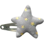 Star hair-clips etoile or gris - PPMC