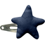 Star hair-clips navy blue - PPMC