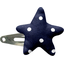Star hair-clips navy blue spots - PPMC