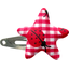 Star hair-clips ladybird gingham - PPMC