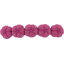 Japan flower hair slide-large size etoile or fuchsia - PPMC