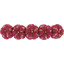 Japan flower hair slide-large size ruby dragonfly - PPMC