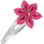 Star flower hairclip fuchsia gold star - PPMC