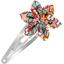 Passador clic clac flor estrella cuadrado de flores - PPMC