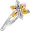 Barrette clic-clac fleur étoile gouttes pastel - PPMC