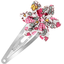 Star flower hairclip pink jasmine - PPMC