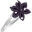 Passador clic clac flor estrella lunares ciruela