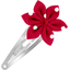 Star flower hairclip red spots - PPMC