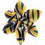 Barrette fleur étoile 4 1000 feuilles - PPMC