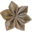 Star flower 4 hairslide gold linen - PPMC