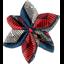 Barrette fleur étoile 4 wax - PPMC