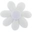 Barrette fleur marguerite blanc - PPMC