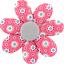Barrette fleur marguerite  fleurette blush - PPMC