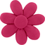 Fabrics flower hair clip fuschia - PPMC
