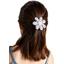 Fabrics flower hair clip neon shards