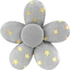 Mini flower hair slide etoile or gris - PPMC