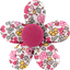 Mini flower hair slide pink jasmine - PPMC