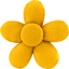 Mini flower hair slide yellow ochre - PPMC
