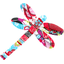 Dragonfly hair slide kokeshis