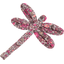 Dragonfly hair slide plum lichen - PPMC